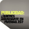 Publicidad FIVE Magazine