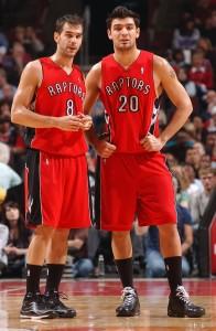 Calderón y Delfino ya no serían compañeros de equipo (Randy Belice/NBAE/Getty Images)