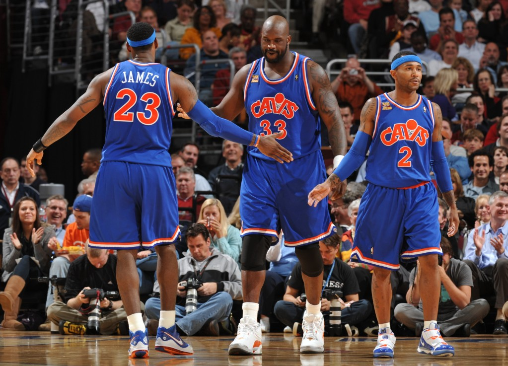 Cleveland (Jesse D. Garrabrant/NBAE via Getty Images)