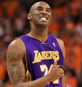 Kobe Bryant celebra la victoria (Photo by Ronald Martinez/Getty Images)