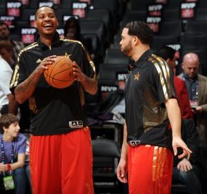 """- """"¡¿A que me voy yo a los Nets?!"""" - """"¡¿Tú a los Nets?! Amos, hombre... ¡ja, ja, ja!"""" (Foto: Getty)"""