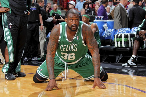 Shaquille O'Neal deber levantar a los Celtics. Copyright 2011 NBAE (Photo by Rocky Widner/NBAE via Getty Images)