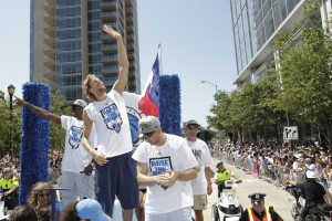 Dallas Mavericks NBA Champion Victory Parade